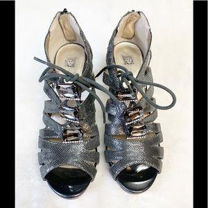Anne Klein iFlex Akornella Lace-up Gladiator Heels